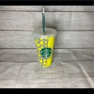 Butterfly Sunflower Custom Starbucks Cup